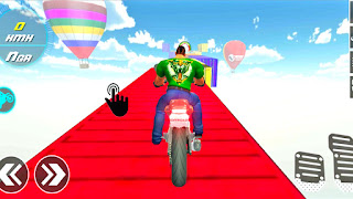 Offroad Bike Impossible Stunt 3D Game
