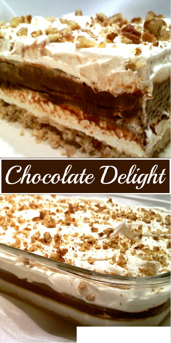 Chocolate Delight #dessertrecipes
