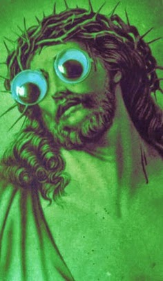 Funny Weird Jesus Collection - Googly eyes