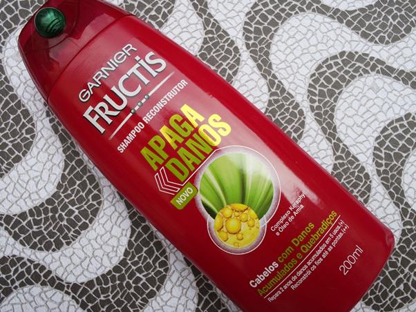 Resenha Linha Apaga Danos Fructis Shampoo  Bruna Marquezine