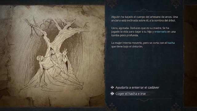 Siege Survival: Gloria Victis - Decisiones
