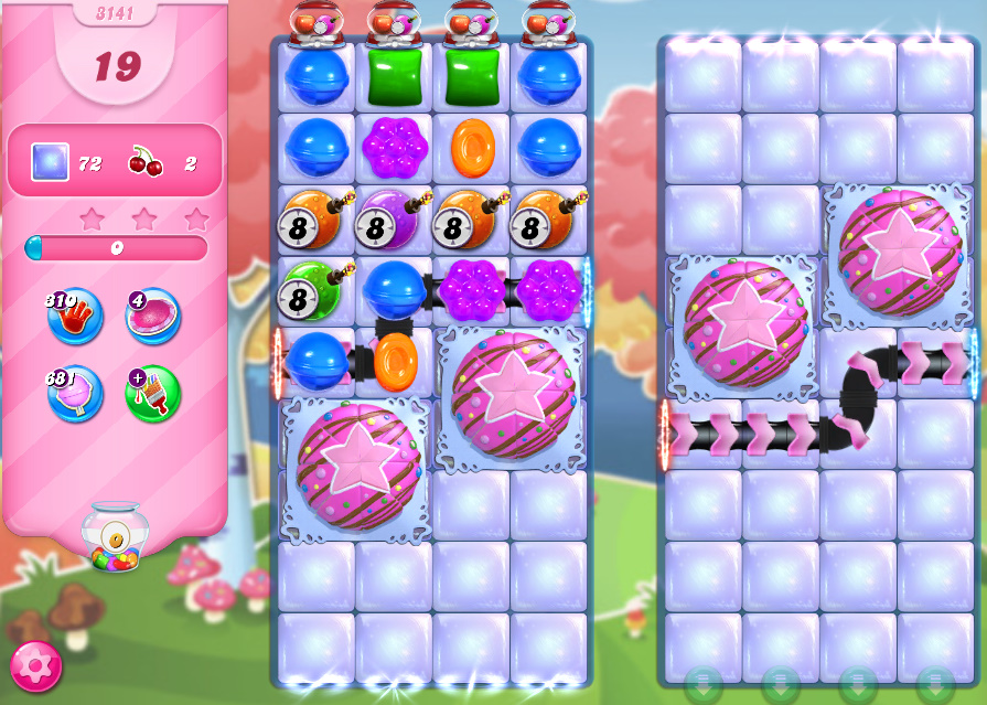 Candy Crush Saga level 3141