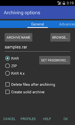 Free Download RAR (WinRAR) 5.40.build41 APK for Android
