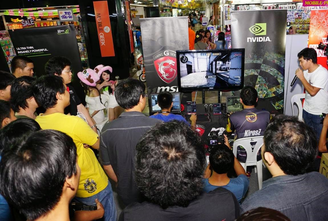 MiTH - NVIDIA GeForce GTX 800M gaming notebooks