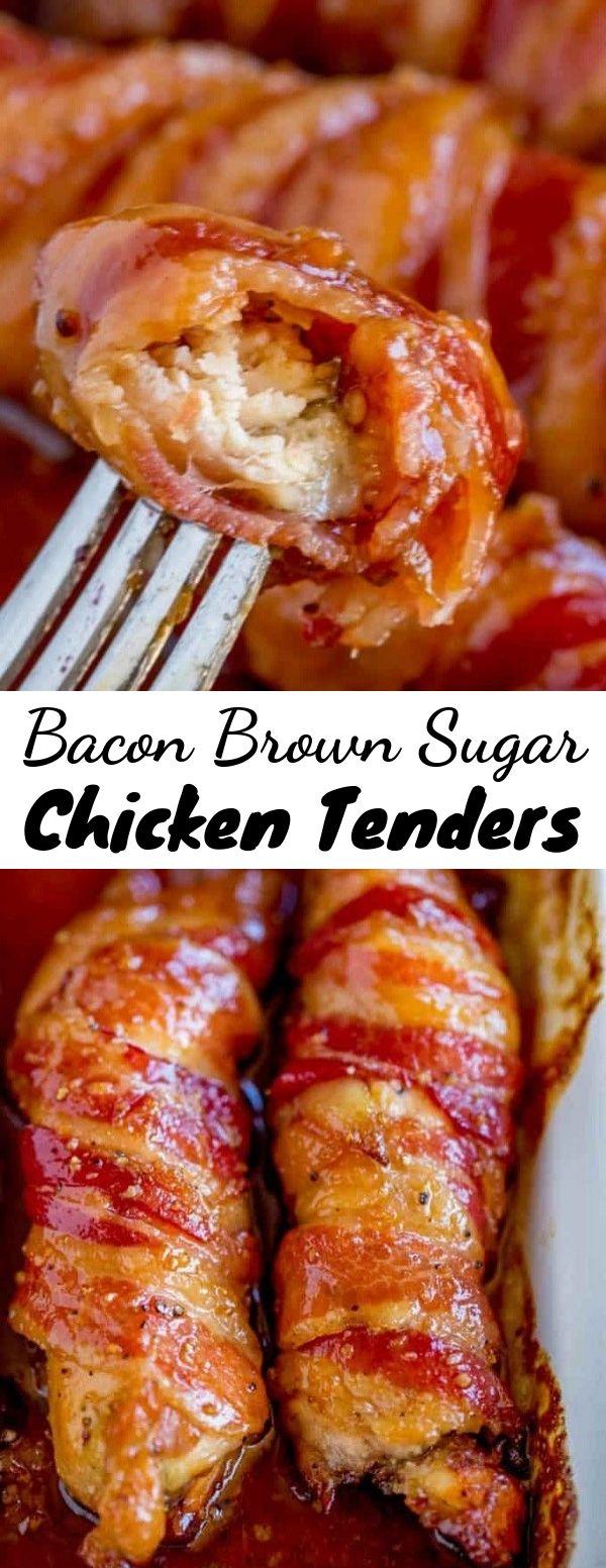 Bacon Brown Sugar Chicken Tenders