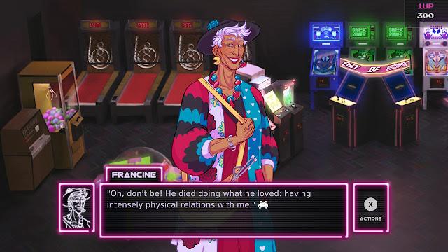 Francine Arcade Spirits Funplex