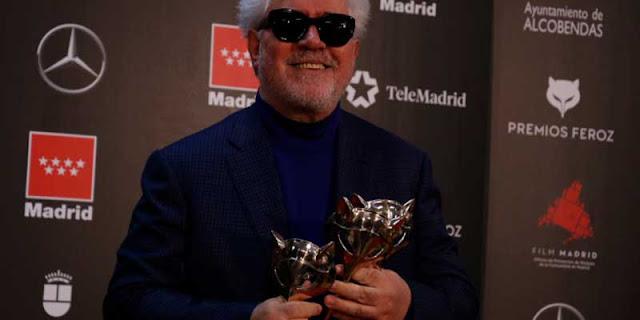 Pedro Almodovar en los Premios Feroz 2020