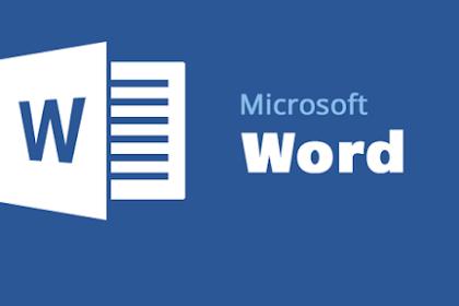 MS WORLD | Pengertian Microsoft Word dan Fungsinya