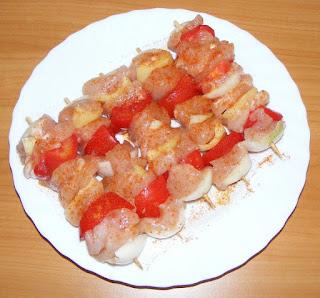 minifrigarui, frigarui de carne si legume, retete culinare, retete cu pui, preparate din pui,