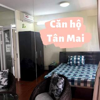 chung cư tân mai bình tân 01 phòng ngủ cho thuê