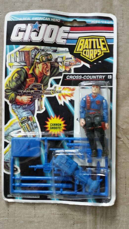 Bootleg, 1992, 1993, Alley Viper, Cobra Commander, Firefly, Cross Country, Keel Haul, Leatherneck, Iceberg, Dr. Mindbender, Roadblock