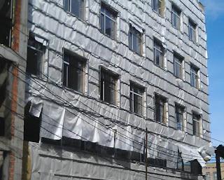 Гидроветрозащита, строительная пленка, фасадная пленка, мембрана для веннтилируемого фасада