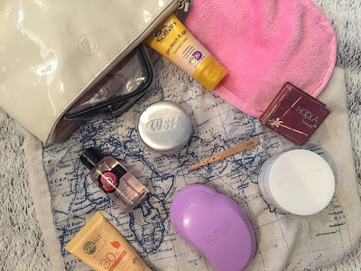 Backpacking beauty essentials