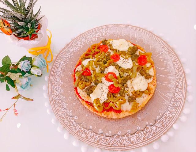 Base pizza 2 ingredientes