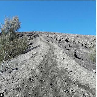 area blank 75 yang menyesatkan pendaki