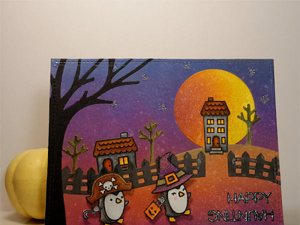 Lawn Fawn: Happy Haunting Penguins