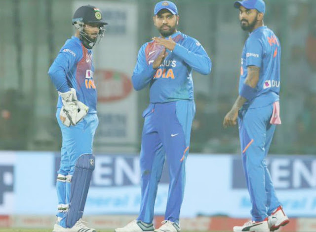 Pant asked Rohit for DRS for a catch out against Soumya Sarkar