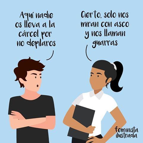 Humor Día de la mujer Feminista