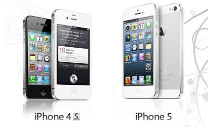 Melihat Perbedaan IPhone 4s Dan 5 dan Mana yang Lebih Efektif