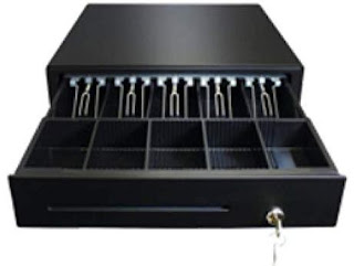 Cash Drawer is Important POS Accessories for efficient Cash Managemet  at Billing POS Counter & how to configure it with POS Machine for Auto Opening.