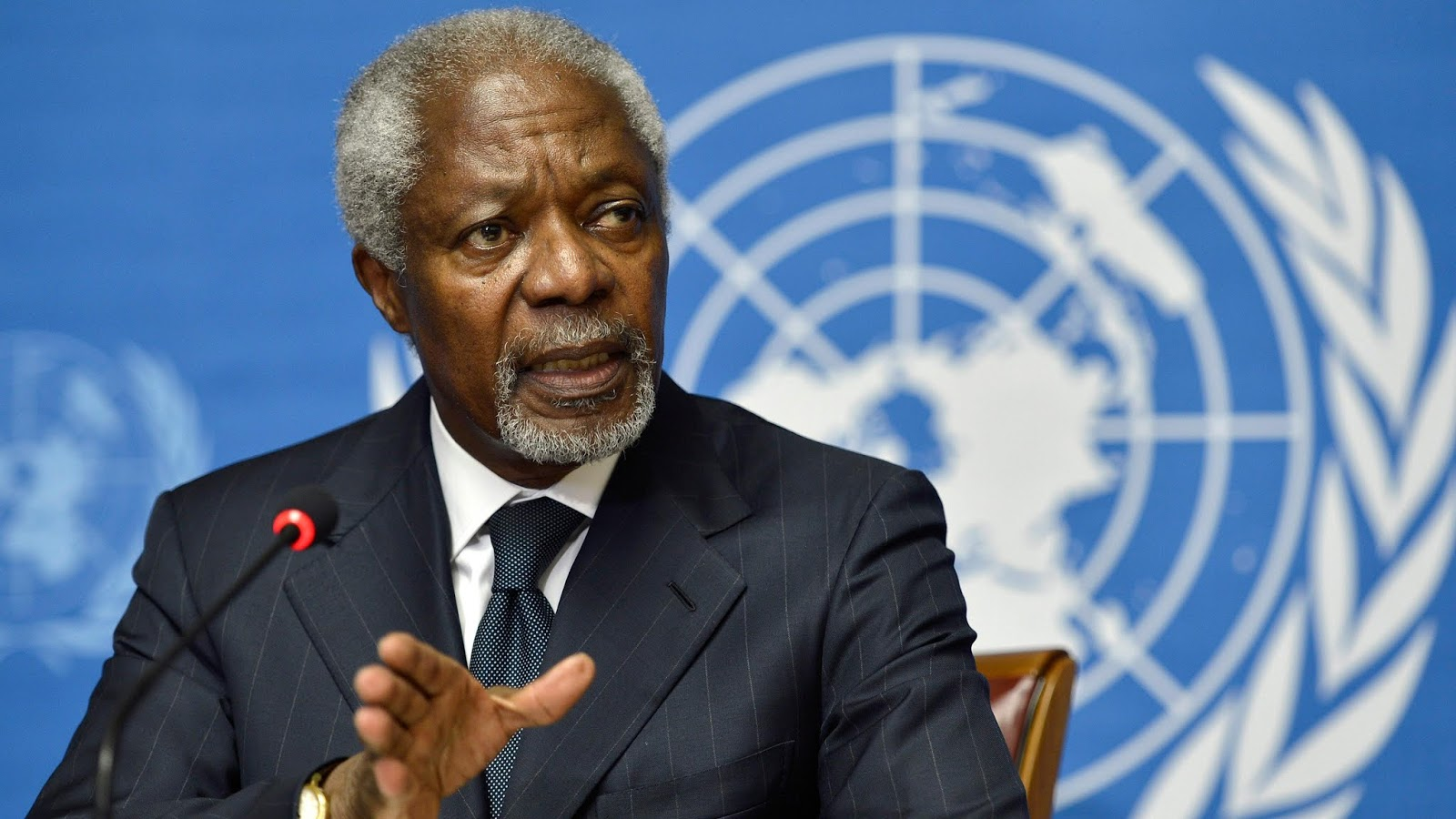 Ex-UN Secretary-General Kofi Annan Dies At 80 - Tributes Mourn 'Great Leader!'