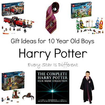 Gift Ideas for 10 Year Old Boys: Harry Potter