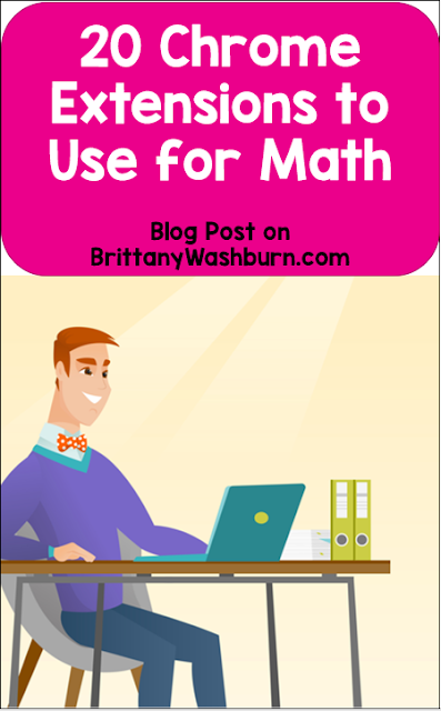 Chrome extensions can add functionality and time-saving organization for teachers and students. Take a look at these Chrome extensions and apps that are geared specifically towards math.