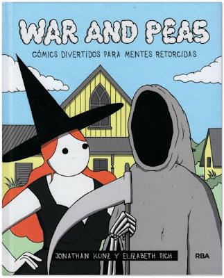 War and peas, comics divertidos para mentes retorcidas