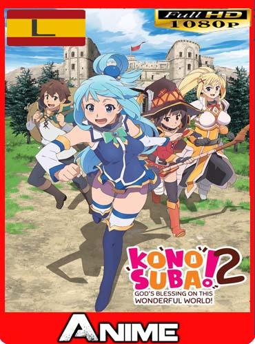 Kono Subarashii Sekai ni Shukufuku wo! 2 ( 07/10) [1080p] Latino [Mega]