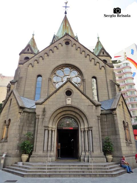 Vista ampla da Paróquia Nossa Senhora da Conceição - Santa Ifigênia - São Paulo