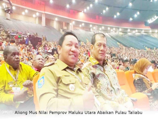 Aliong Mus Nilai Pemprov Maluku Utara Abaikan Pulau Taliabu