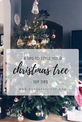 Pinterest idea, style your christmas tree