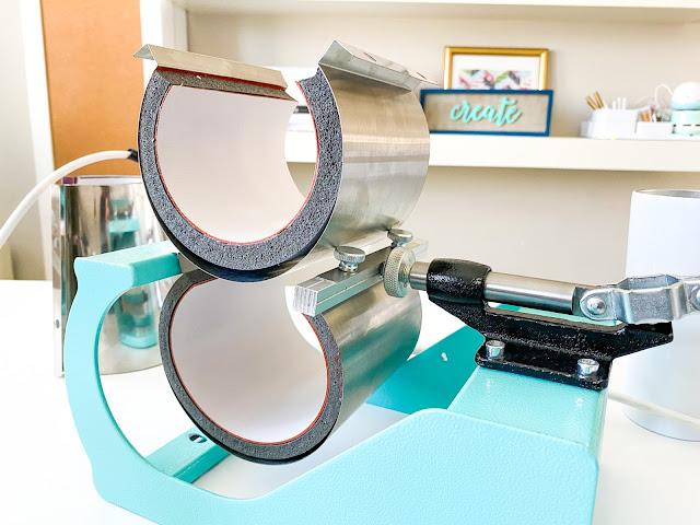 mug press, silhouette and sublimation, heat press basics, 8-in-1 heat press, sublimation, mug press attachments