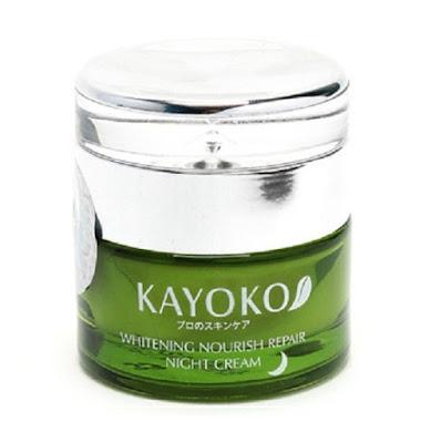 Kem dưỡng da tái tạo ban đêm Kayoko