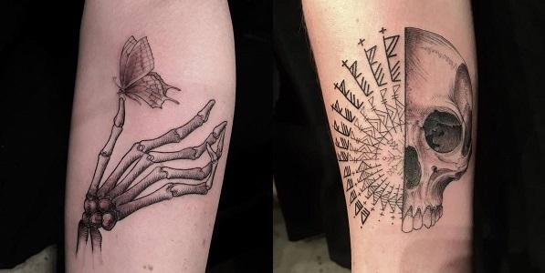 bayan kol dövme tattoo