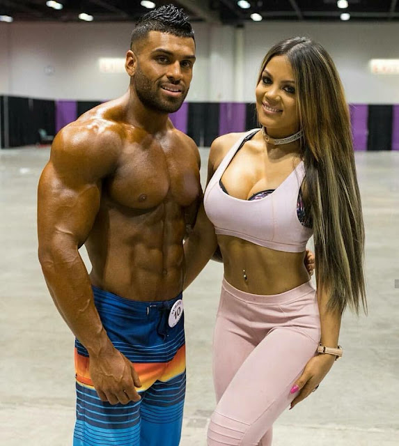 Sexy Fit Couple
