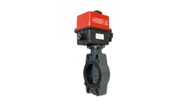 Bamo Electrically Actuated Butterfly Valves VEP FE-PVC