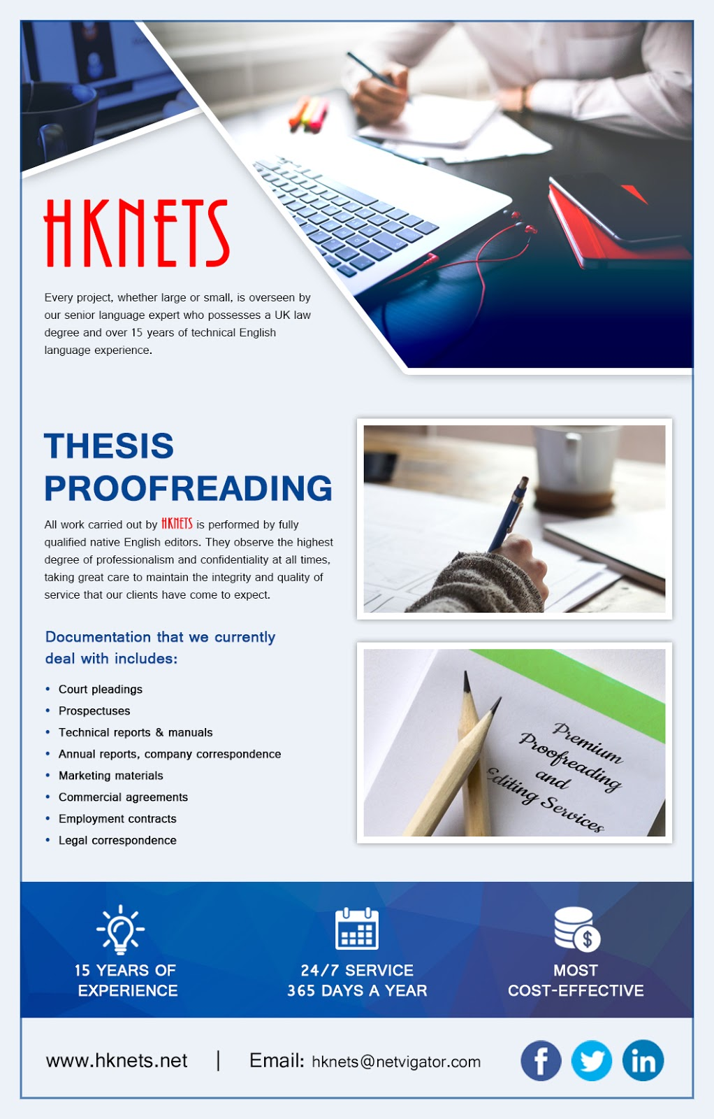 Dissertation proofreading services professional