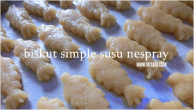 biskut simple susu nespray