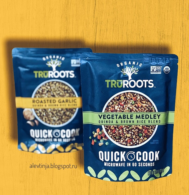 TruRoots, Organic, Vegetable Medley, Quinoa & Brown Rice Blend, 8.5 oz (241 g)