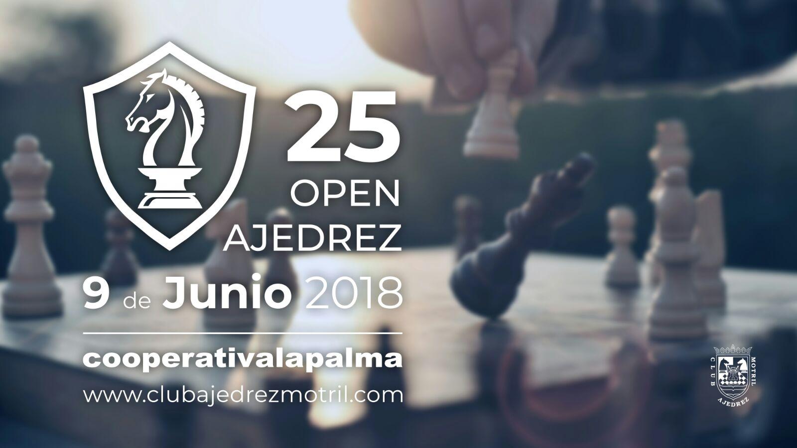 """El """"25 Torneo de Ajedrez Cooperativa Granada-La Palma"""" ya tiene bases y fecha"""