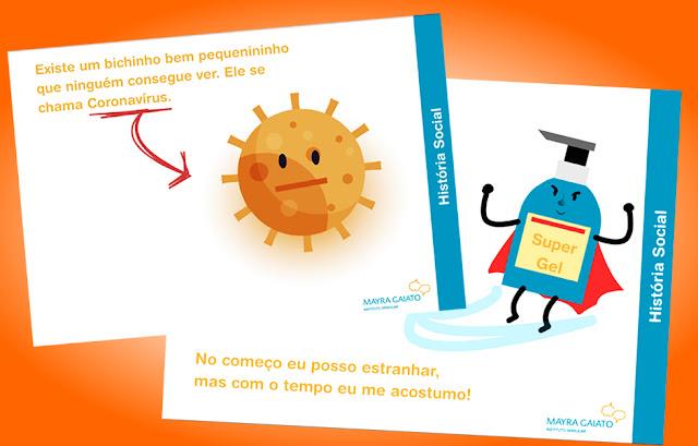 Como explicar o corona virus para criança educação infantil