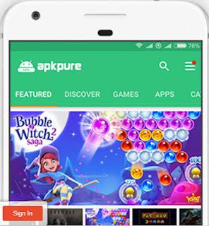 تحميل متجر Apkpure أفضل بديل لجوجل بلاي