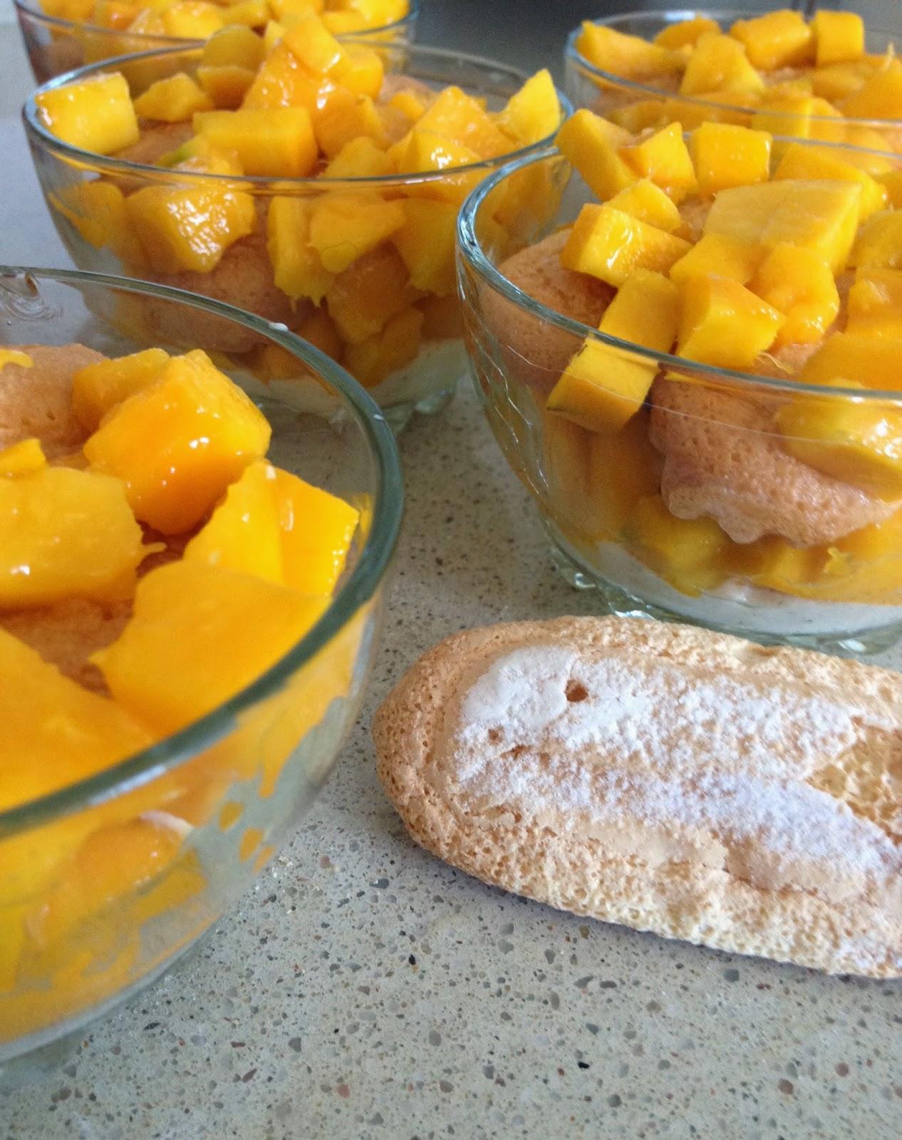 Sweet Kwisine, mangue, tiramisu, mascarpone, mango, cuisine antillaise, végétarien, dessert, crème, vanille, cuisine antillaise, martinique, bassignac, mangue Julie