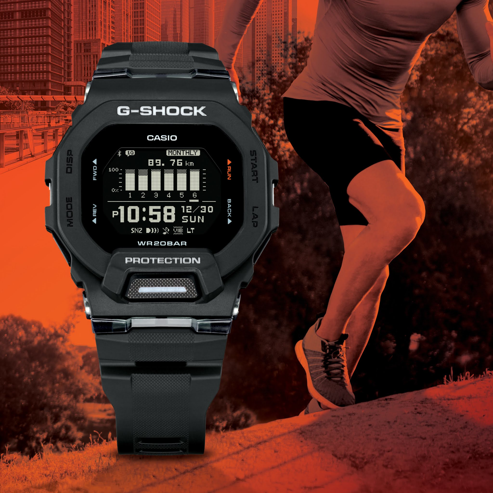 G-SHOCK Expands its G-SHOCK MOVE Lineup with Innovative GBD200 Models Featuring Origin Square Case Design