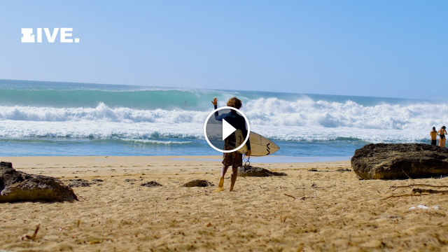 The Best Summer Swell on the North Shore of all time