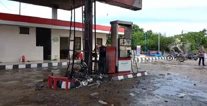 Wanita Hamil 7 Bulan Menjadi Korban Insiden Kebakaran SPBU di Kabupaten Tebo