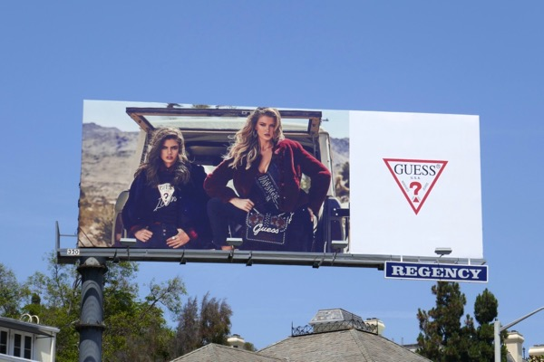 Guess Fall 2018 billboard