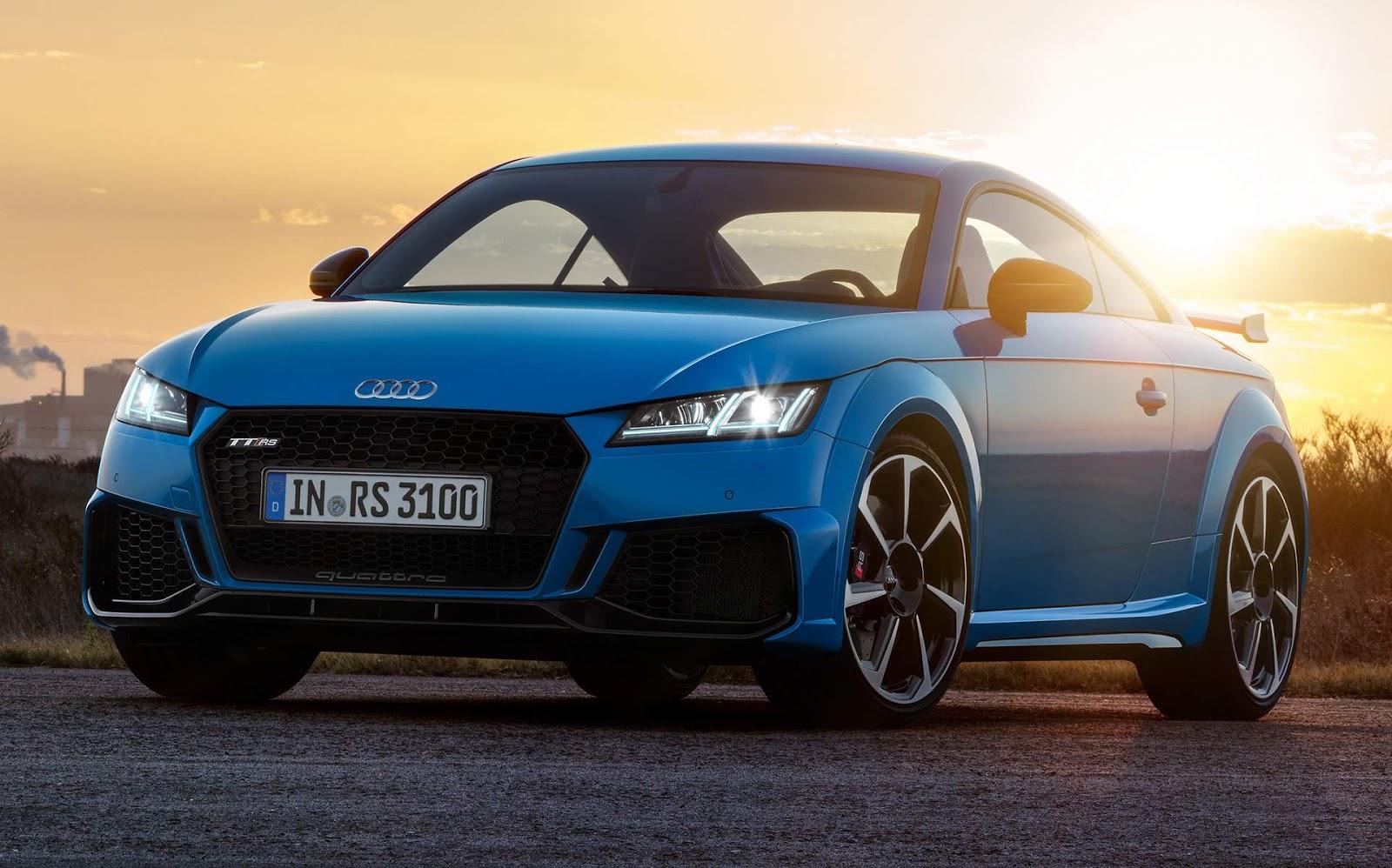 Audi TT RS e TT RS Roadster 2020: fotos e especificações ...