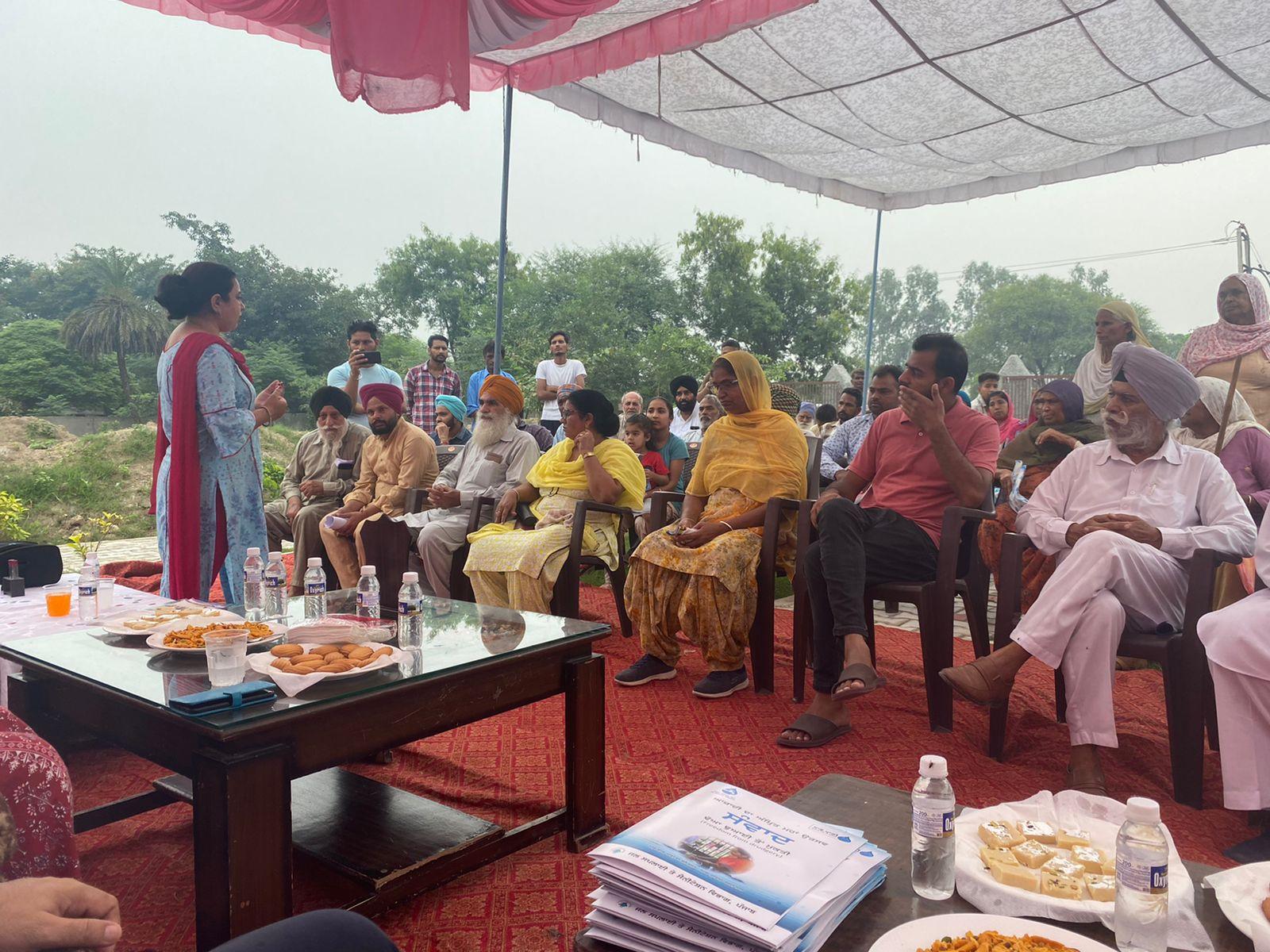 पंजाब सरकार द्वारा सभी गाँवों में 5 मरला प्लाॅट स्कीम के अंतर्गत योग्य लाभार्थीयों की पहचान करने के लिए मुहिम की शुरुआतः तृप्त बाजवा